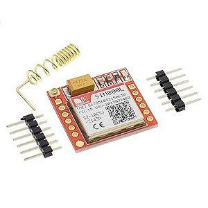 Módulo Gprs Gsm Sim800l Com Antena E Pinos