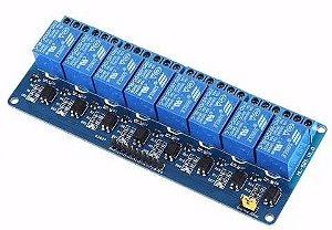 Modulo Relé 8 Canais 5v Relay Automação Arduino