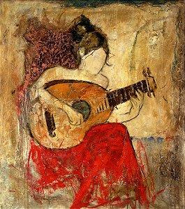 Quadro Decorativo Tela 100 x 80 cm Vanessa