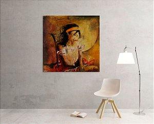 Quadro Decorativo Tela Desires 100 x 100 cm