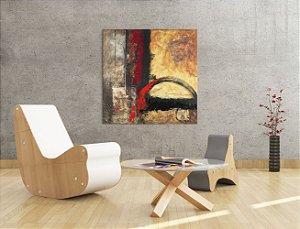 Quadro Decorativo Tela Miracle 100 x 100 cm