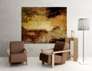 Quadro Decorativo Tela Great Storm 80 x 100 cm