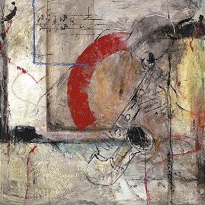Arte Contemporânea Tela American Soul 70 x 70 cm