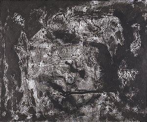 Arte Contemporânea Tela Atividade Cerebral 60 x 80 cm