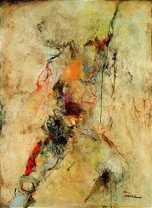 Arte Contemporânea Tela Graceful Creation 80 x 60 cm