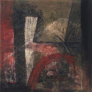 Arte Contemporânea Tela Knowledge 70 x 70 cm