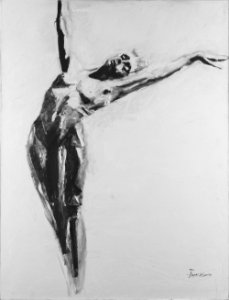 Arte Contemporânea Quadro Decorativo Tela Naked Soul 80 x 60 cm