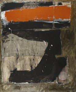 Arte Contemporânea Tela Rock I 80 x 60 cm