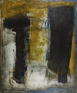Arte Contemporânea Tela Rock III 80 x 60 cm
