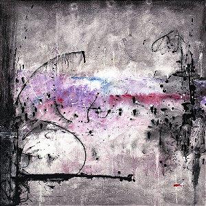 Arte Contemporânea Tela Starting 70 x 70 cm