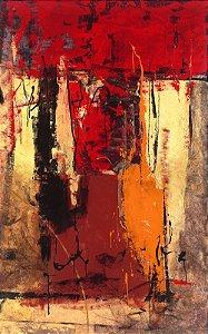 Arte Contemporânea Tela Victory 1 80 x 50 cm