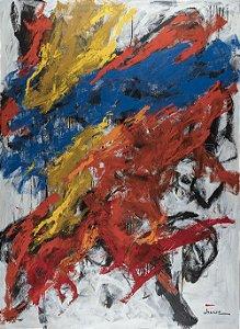 Quadro Decorativo Tela Euphoria 100 x 75 cm