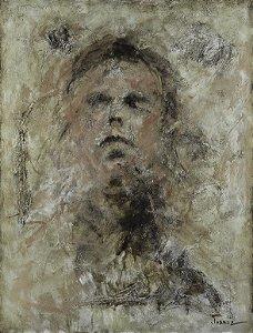 Obra Original Pintura sobre Tela, The Connoisseur, Acrílica, 130 x 100 cm
