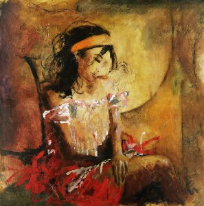Obra de Arte Tela Desires 135 x 135 cm