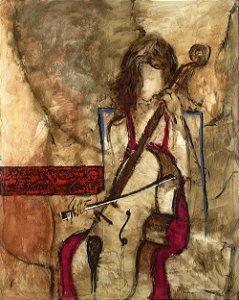 Obra de Arte Tela Satisfaction 150 x 120 cm