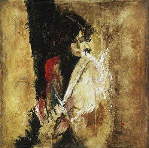 Quadro Tela Irene 115 x 115 cm