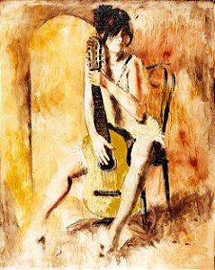 Quadro Tela Love Song 125 x 100 cm