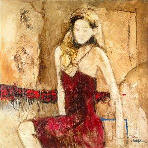 Quadro Tela Ruth 125 x 100 cm