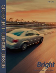 Emission Legislation - Light Vehicles Brazil - English Version