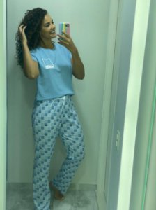 Pijama Pantone Calça/ Manga curta