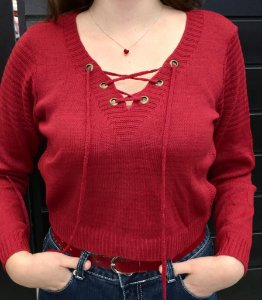 Blusa Tricot Cropped