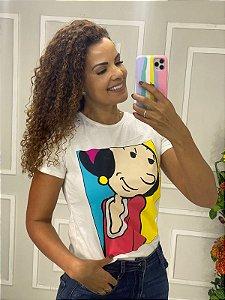 Camiseta Feminina Olivia Palito