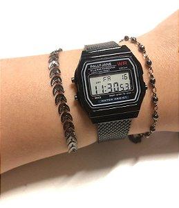 Relógio Metálico