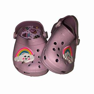 Crocs Infantil Arco Íris