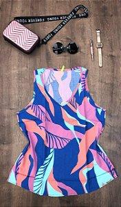 Blusa Regata Colorida