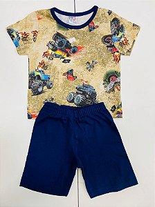 Pijama Infantil Estampado Menino