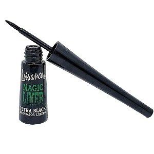 Delineador Líquido Magic Liner ultra black Luisance