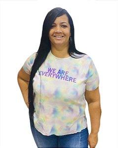 Blusa adulto Estilo Tie Dye - We Are Everywhere