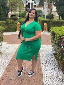 Vestido Midi Azaléia - Plus Size