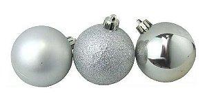 Kit 9 bolas decorativas de Natal