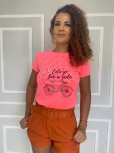 """T-Shirt """"Let´s Go For a Ride"""""""