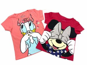 Kit 2 Camisetas Disney