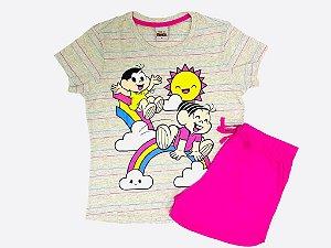 Pijama Juvenil - Camiseta e shorts Magali