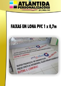 Faixa Metro Linear - Plástica 0,7m altura