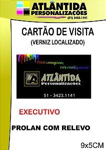 CARTÃO DE VISITA - VERNIZ LOCALIZADO - 1000 PÇ