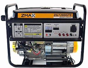Gerador a Gasolina ZG7200GTE ZMAX