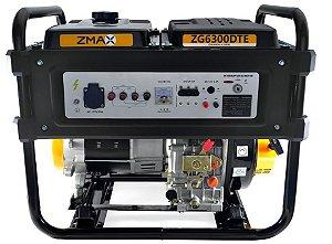 Gerador a Diesel ZG6300DTE ZMAX
