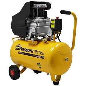 Compressor de Ar 8,2 Pés 25 Litros Moto Press - Pressure