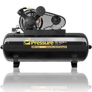 Compressor Onix Press 20 Pés 250 Litros 175 Libras Trifásico - Pressure