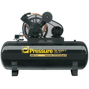 Compressor Onix Press 20 pés 200 Litros 175 Libras Trifásico - Pressure