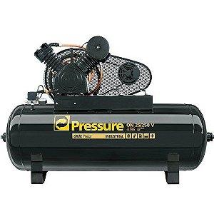 Compressor Onix Press 25 Pés 250 Litros 175 Libras - Pressure