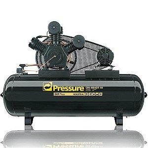 Compressor Onix Press 40 Pés 425 Litros 175 Libras Trifásico - Pressure