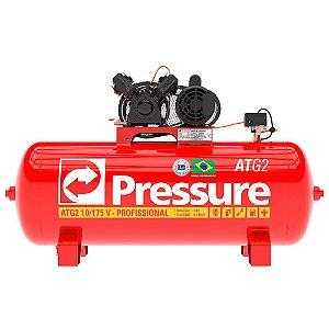 Compressor de Ar 10 Pés 175 Litros ATG2 Monofásico - Pressure