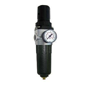 Filtro Regulador de Ar Médio 1/2 - Pressure
