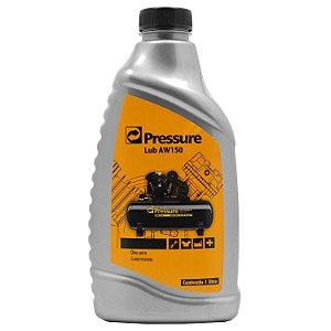 Óleo para Compressores de Ar Tipo Pistão 1 Litro AW150 - Pressure