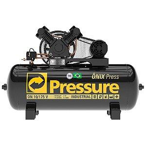 Compressor Onix Press 10 Pés 175 Litros Trifásico - Pressure